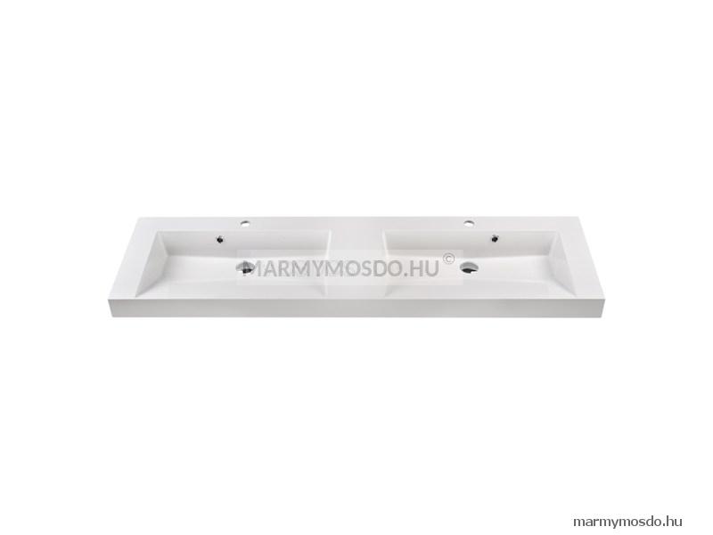 Marmy Adriana 160 dupla szögletes beépíthető mosdó