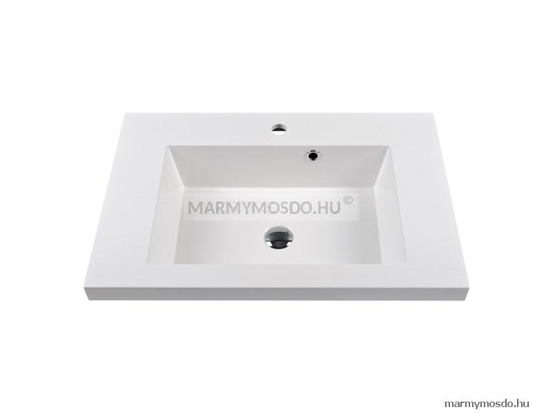 Marmy Roma 71 szögletes beépíthető mosdó