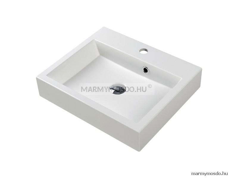 Marmy Bologna 50 szögletes beépíthető mosdó