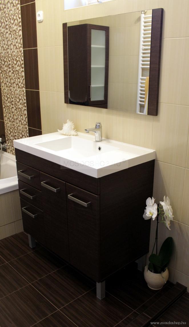 Bútorra szerelt mosdó