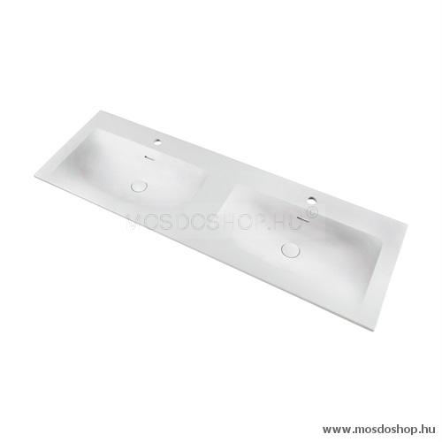 Marmy - Delta dupla beépíthető mosdókagyló