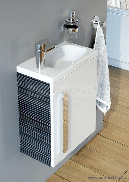 Ravak - Chrome 400 balos beépíthető kézmosó mosdó