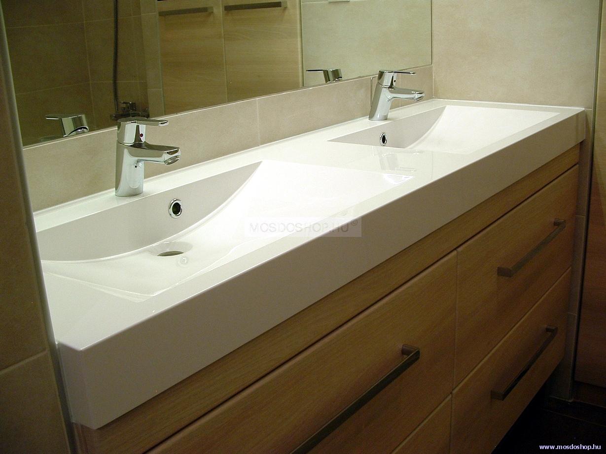 Duplaöntött márvány mosdó
