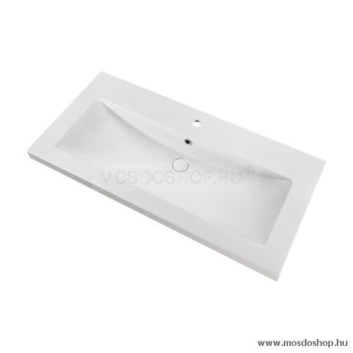 Marmy - Calabria 105 x 51 cm szögletes beépíthető mosdó
