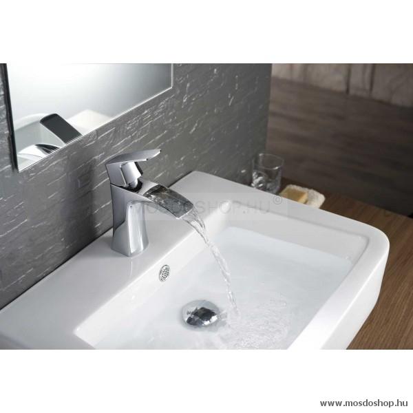 Arezzo Design - Wakefield mosdó csaptelep, króm, vízesés kifolyóval