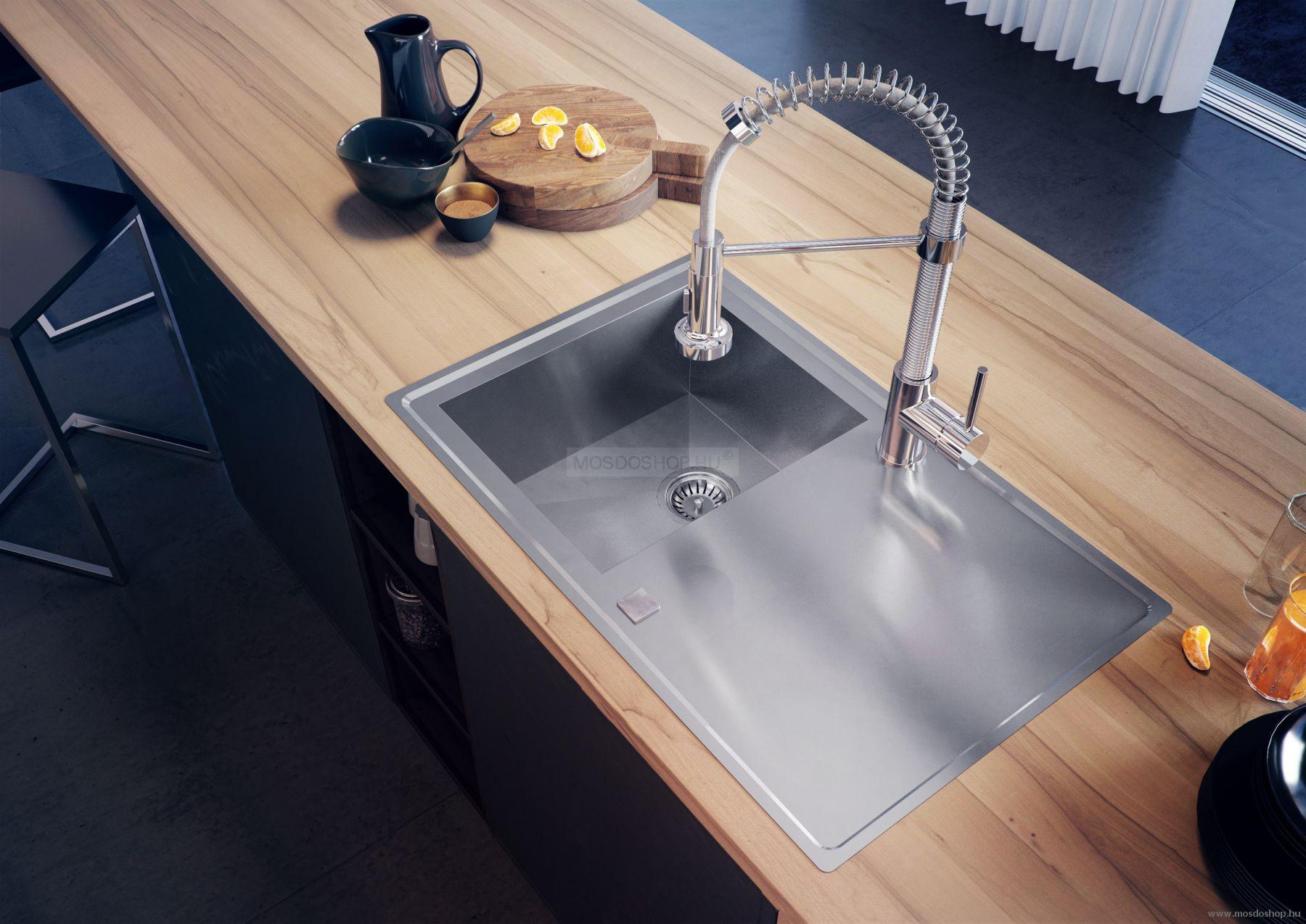 Deante - Molla zuhanyfejes mosogató csap