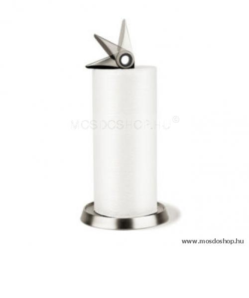 UMBRA TUCAN álló papírtörlő tartó fekete-nikkel színű-Mosdoshop 6902621adf