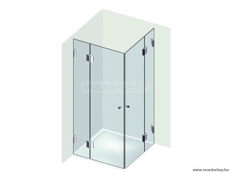 Varioglass - 214 zuhanykabin - MOMENT króm zsanér - Varioglass ...