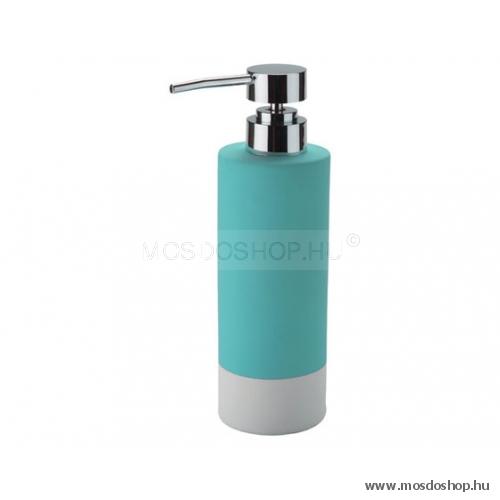 Gedy - Mizar türkiz színű szappanadagoló - Fürdőszoba kiegészítő ...